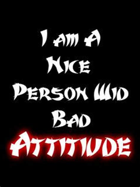 Short essay on bad attitude